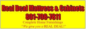 Real Deal Mattress and Cabinets Logo