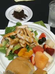 Food from Landmark Catering