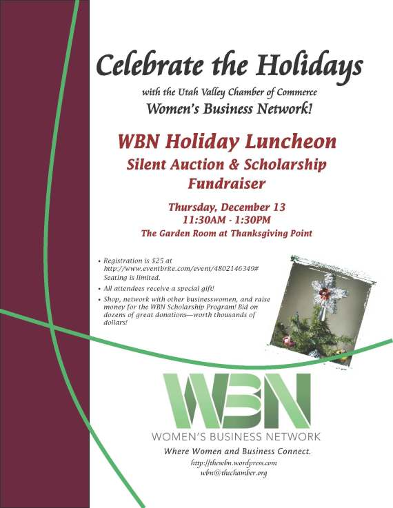 2012 Holiday Luncheon Flyer